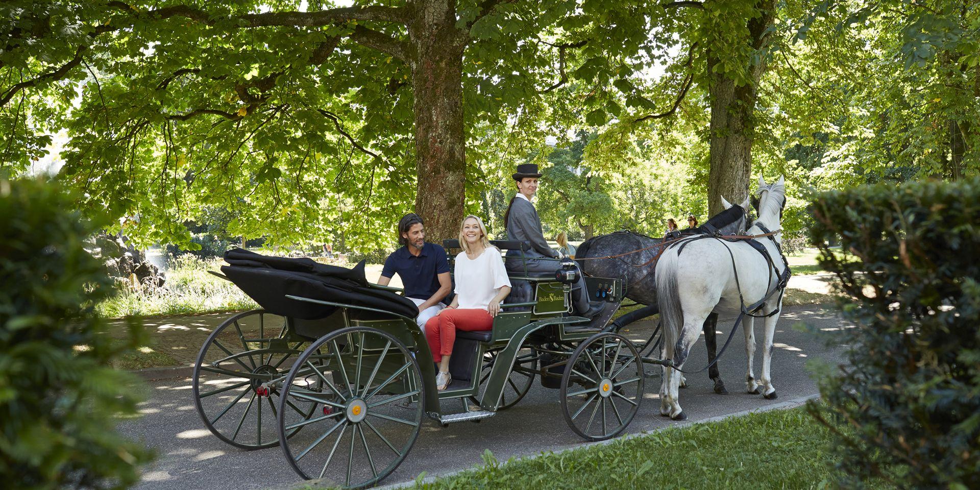 Mit der Kutsche durch Baden-Baden