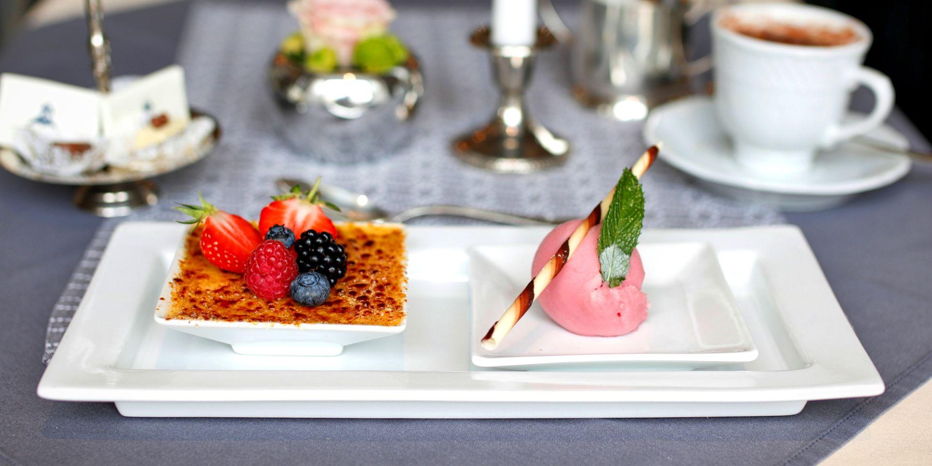 Kulinarisches im Hotel der kleine Prinz