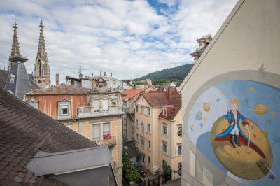 Ausblick Hotel der kleine Prinz in Baden-Baden